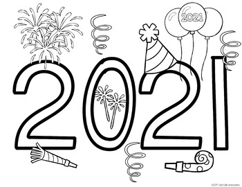 vbs coloring pages 2020 new year bucket list and coloring sheet 2020 2023 tpt 2020 coloring pages vbs