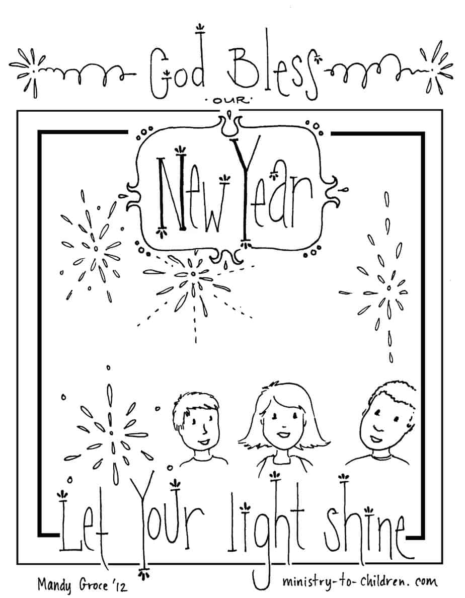 vbs coloring pages 2020 new years coloring page let your light shine ministry vbs coloring pages 2020