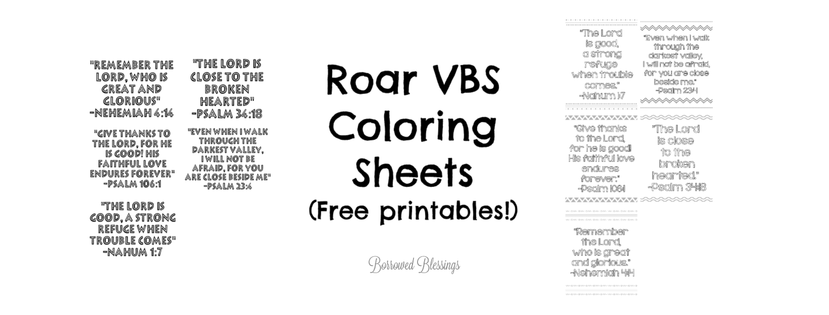 vbs coloring pages 2020 roar vbs printable bible verse coloring sheets borrowed vbs coloring 2020 pages
