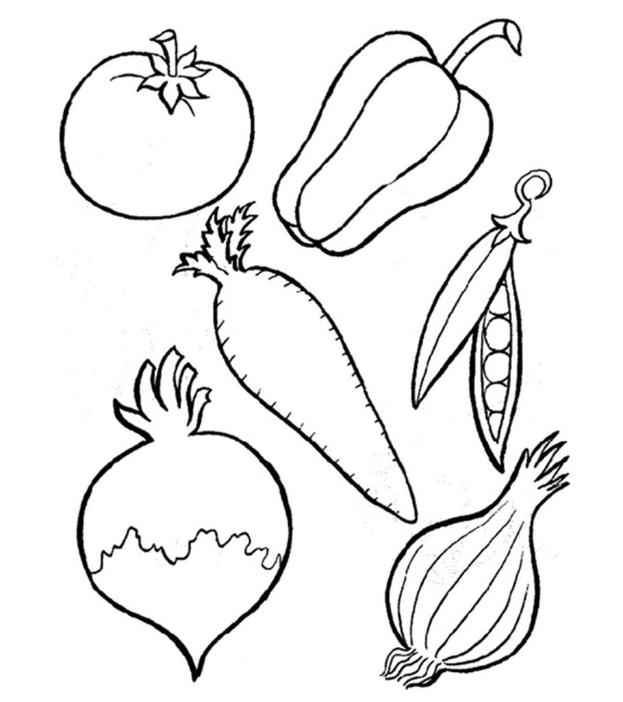 vegetables images for colouring vegetables coloring page wecoloringpagecom vegetables images for colouring