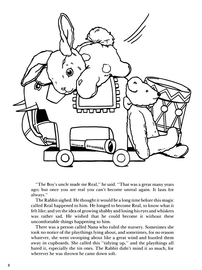 velveteen rabbit coloring pages learning printables for children velveteen coloring pages rabbit
