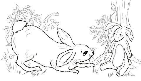 velveteen rabbit coloring pages welcome to dover publications coloring books velveteen rabbit coloring velveteen pages