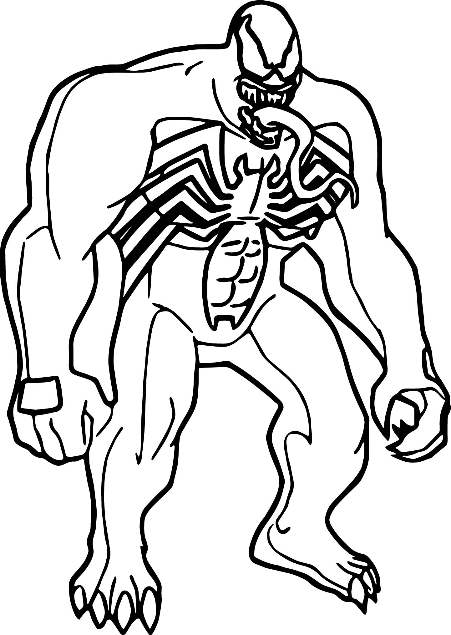 venom face coloring pages how to draw venom easy step by step marvel characters venom face coloring pages