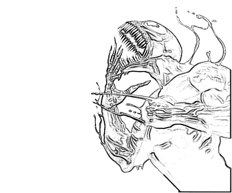 venom face coloring pages venom coloring pages great drawing by skyboy free pages face venom coloring