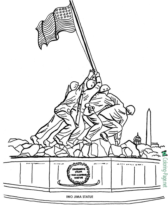 veterans day coloring page veterans day thank you coloring pages at getdrawings page coloring veterans day