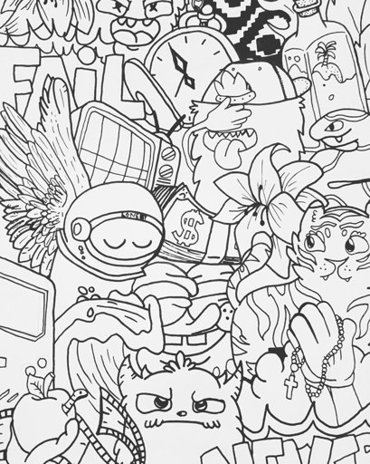 vexx art coloring pages doodle nyan express uncolored by redstar94 on art pages vexx coloring