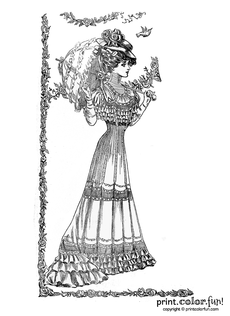 victorian colouring sheets download victorian coloring for free designlooter 2020 sheets victorian colouring