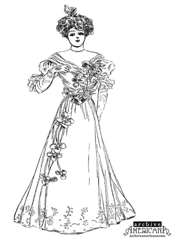 victorian colouring sheets girl in victorian dress coloring page free printable sheets victorian colouring