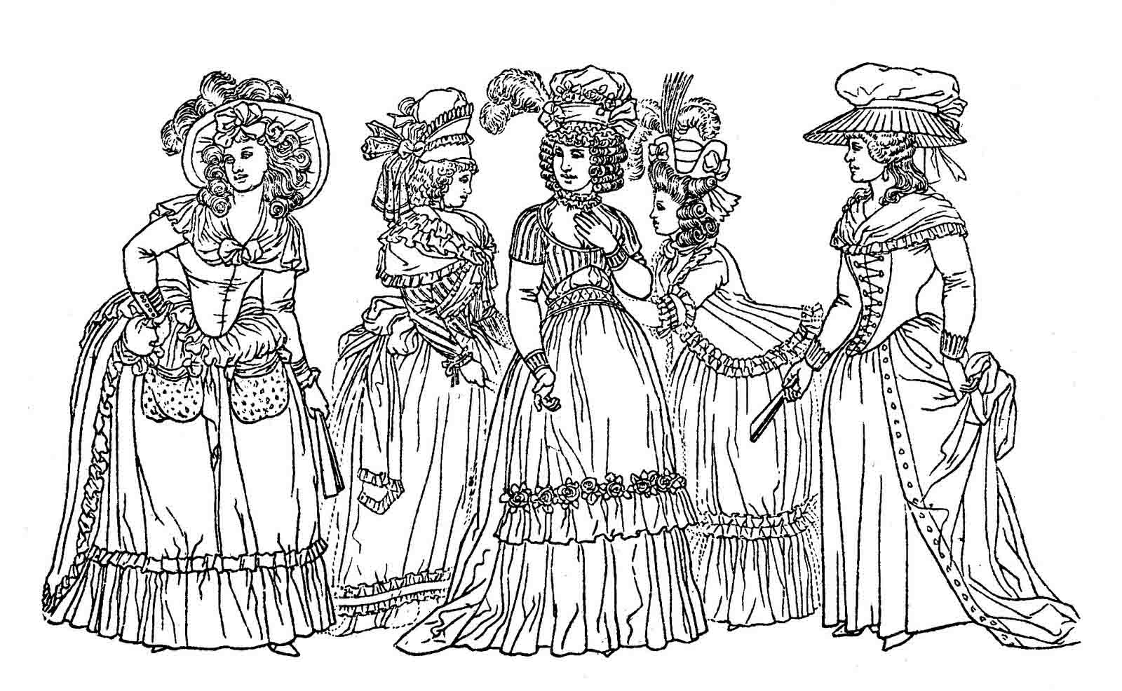 victorian colouring sheets victorian girl in a big hat free printable coloring page colouring victorian sheets