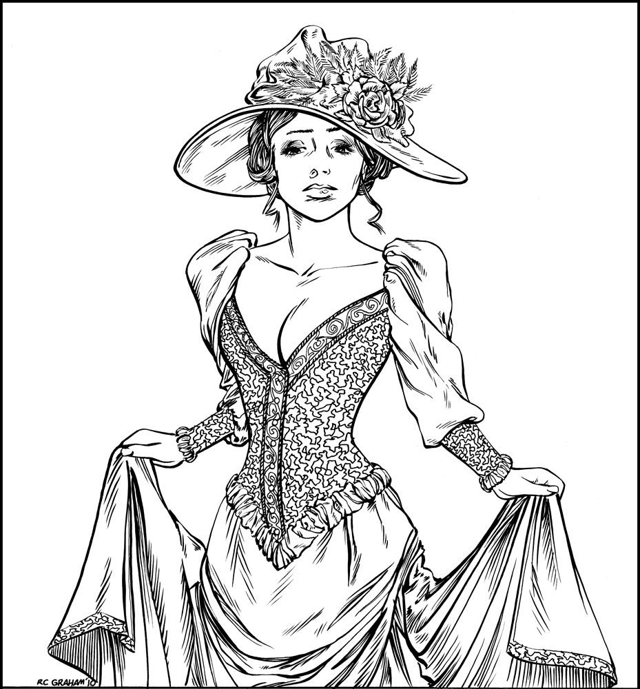 victorian colouring sheets victorian printable coloring pictures colouring victorian sheets