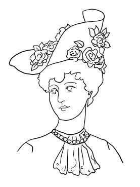 victorian colouring sheets victorian printable coloring pictures colouring victorian sheets 1 1