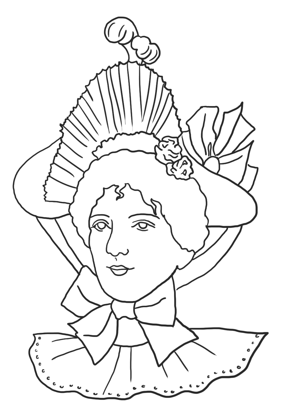 victorian colouring sheets victorian printable coloring pictures victorian colouring sheets 1 2