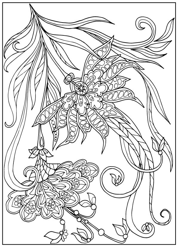 vintage flower coloring pages free coloring pages coloring pages flower vintage