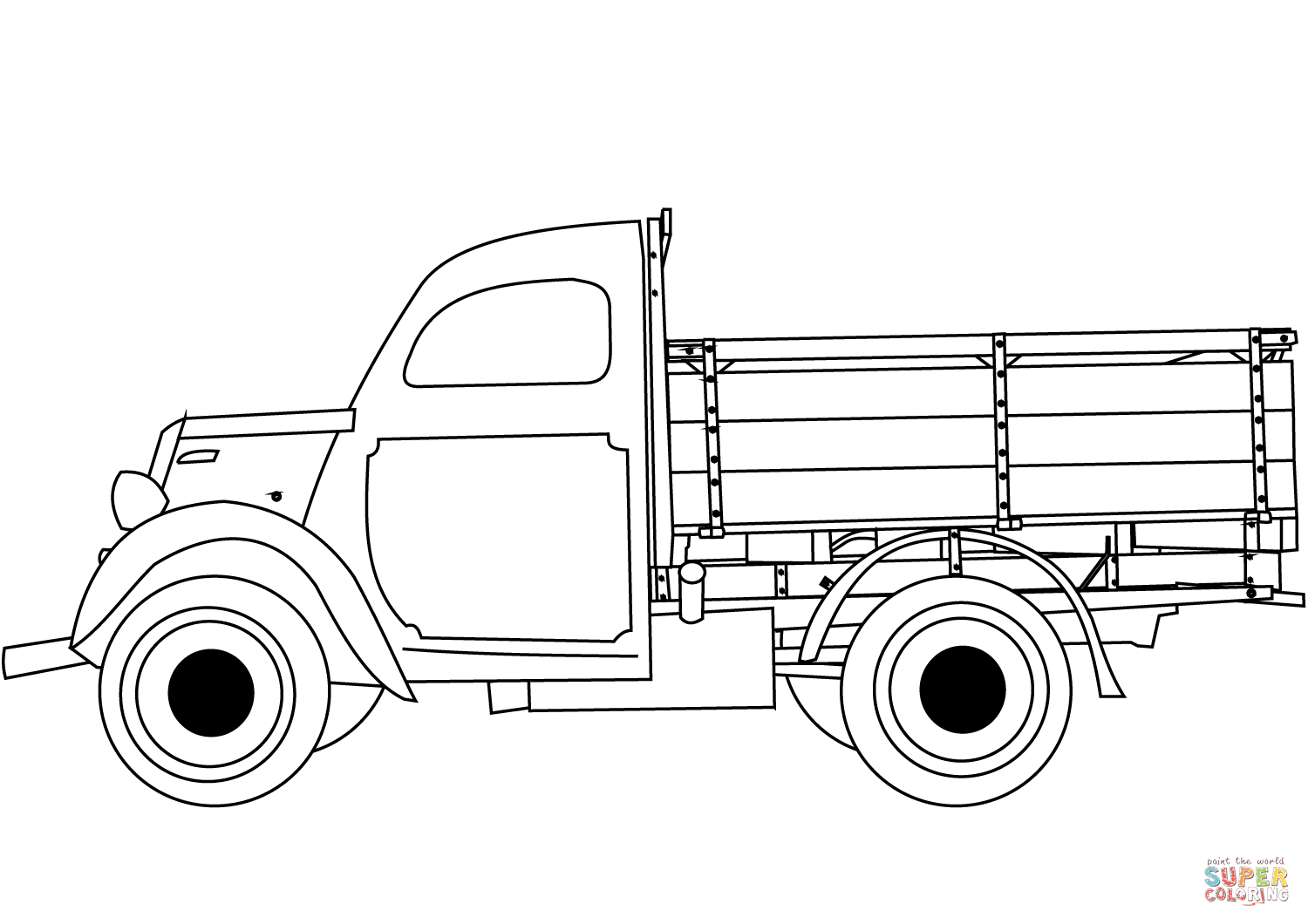 vintage truck coloring page classic truck coloring page free printable coloring pages coloring truck page vintage
