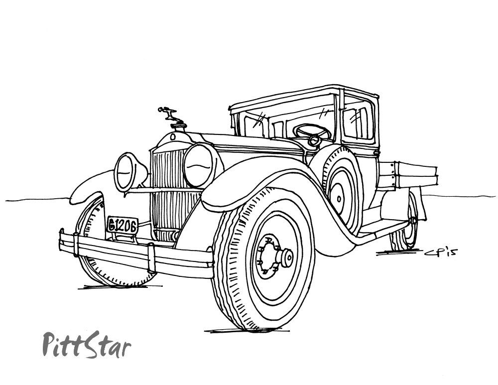 vintage truck coloring page fire truck coloring pages free printable pictures in hd vintage page coloring truck