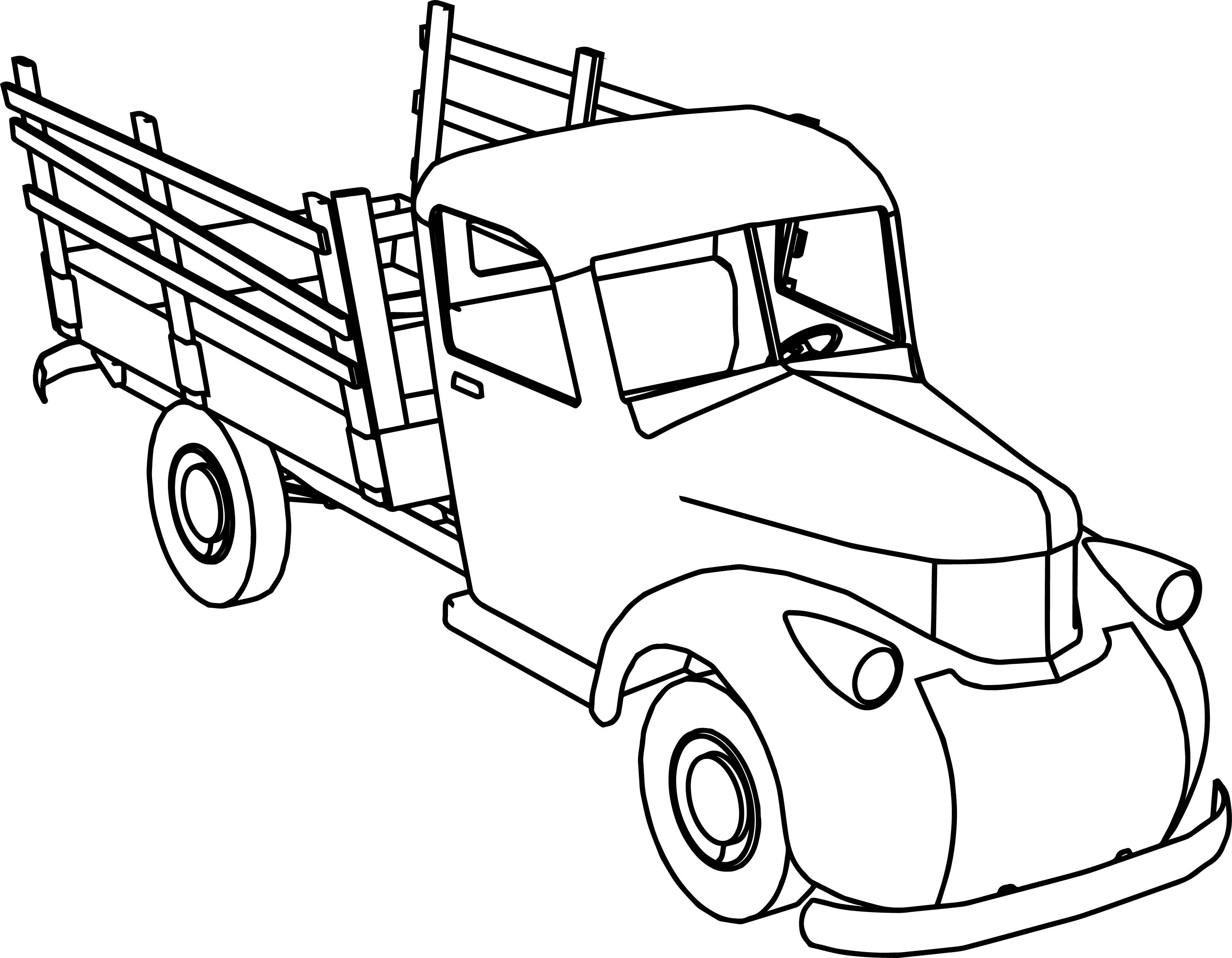 vintage truck coloring page gmc truck coloring pages at getcoloringscom free vintage page truck coloring