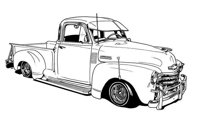 vintage truck coloring page old truck coloring pages cars coloring pages truck vintage coloring truck page