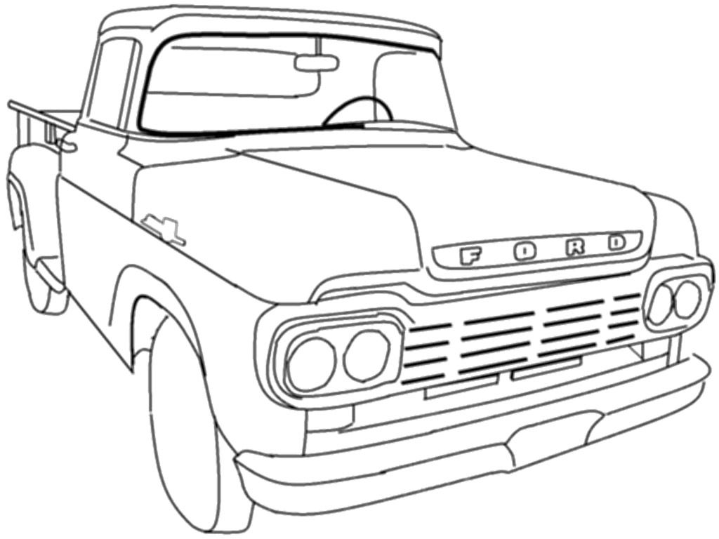 vintage truck coloring page printable coloring pages old school cars coloring home page truck vintage coloring