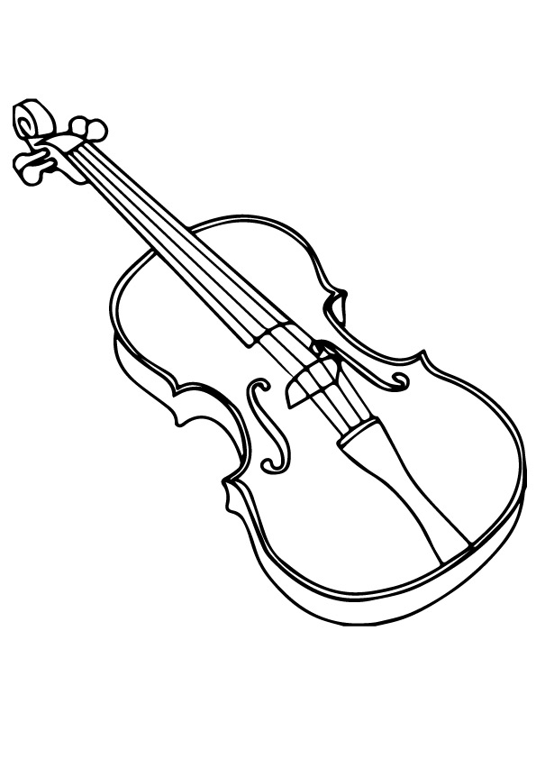 violin colouring violin coloring pages books 100 free and printable colouring violin