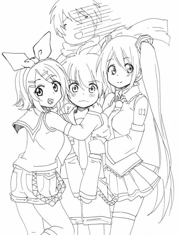 vocaloid coloring pages neru vocaloid free coloring pages coloring vocaloid pages