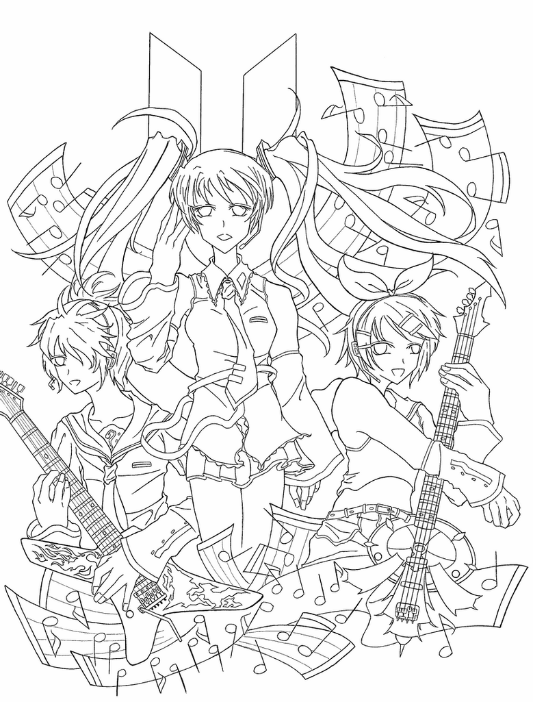 vocaloid coloring pages vocaloid world is mine lineart by yachiru rinrin on deviantart vocaloid pages coloring