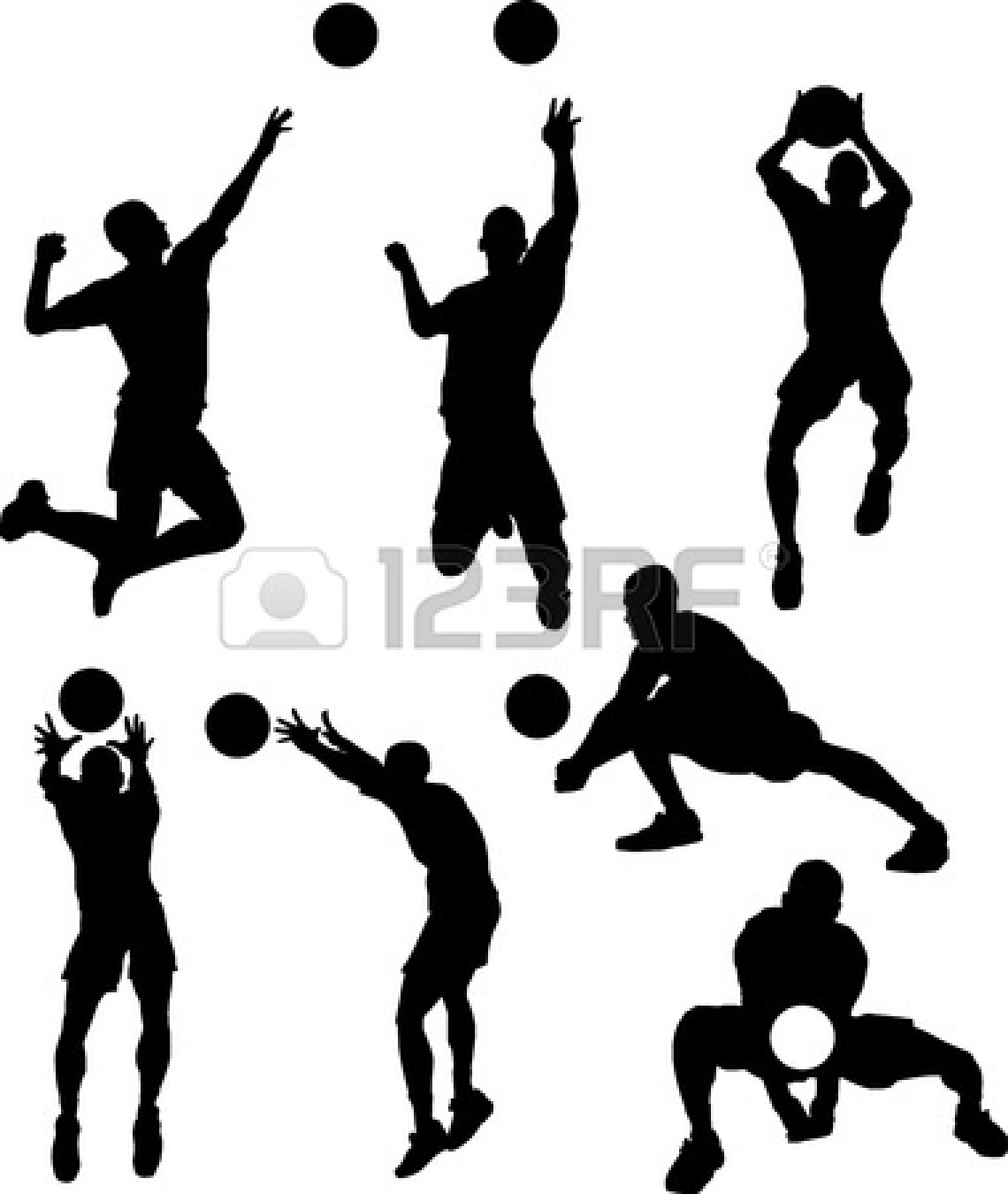 volleyball setter clipart volleyball setter silhouette at getdrawings free download setter volleyball clipart