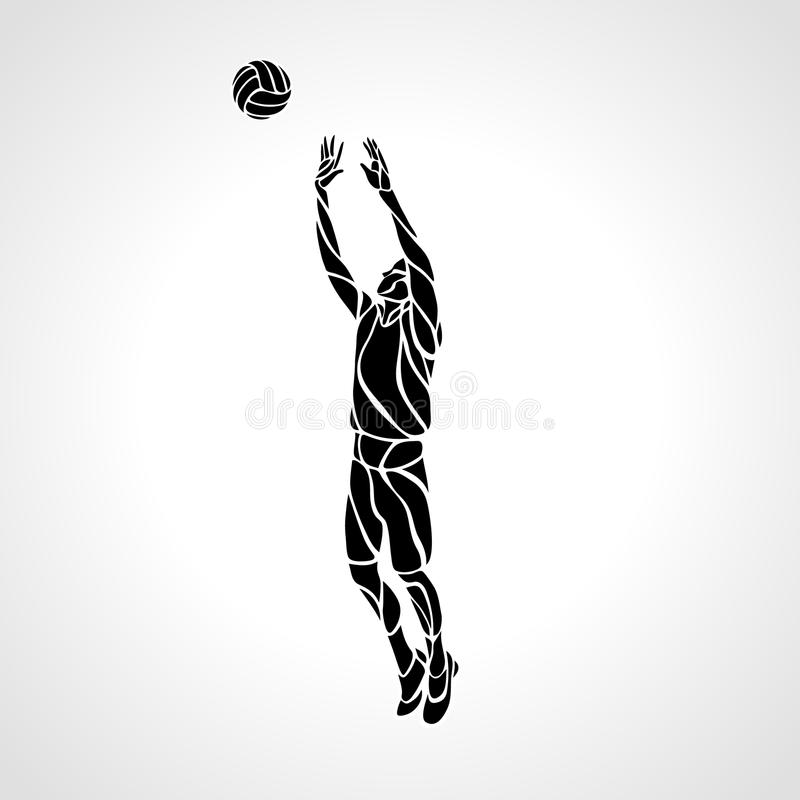 volleyball setter clipart volleyball setter silhouette stencil seniors setter volleyball clipart