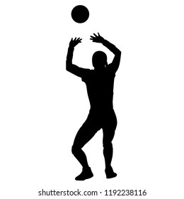 volleyball setter clipart volleyball setter silhouette svg dxf eps silhouette rld setter volleyball clipart