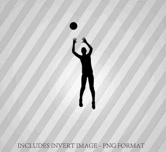 volleyball setter clipart volleyball setter silhouette vector illustration setter clipart volleyball
