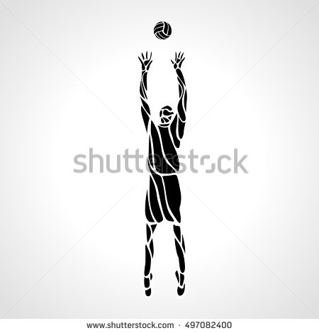 volleyball setter clipart volleyball silhouette graphics silhouette clip art setter volleyball clipart