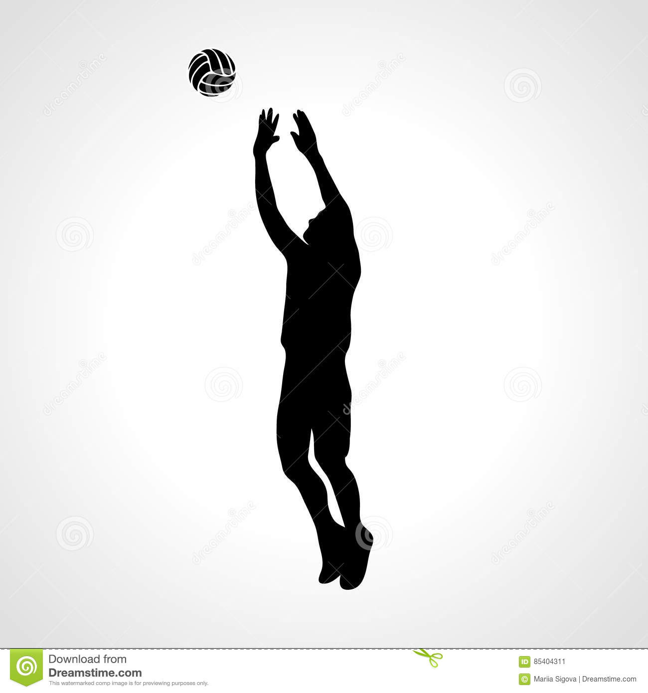 volleyball setter clipart volleyball silhouette vector at getdrawings free download setter volleyball clipart