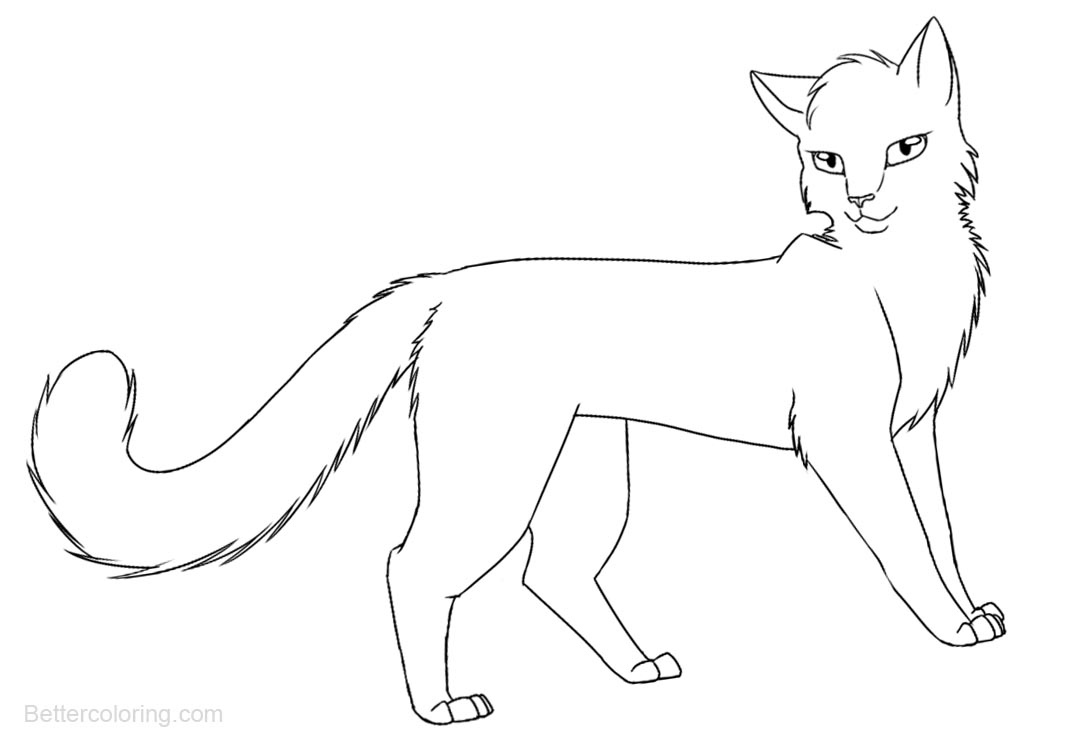warrior cat coloring pages warrior cats coloring pages walking free printable warrior cat coloring pages
