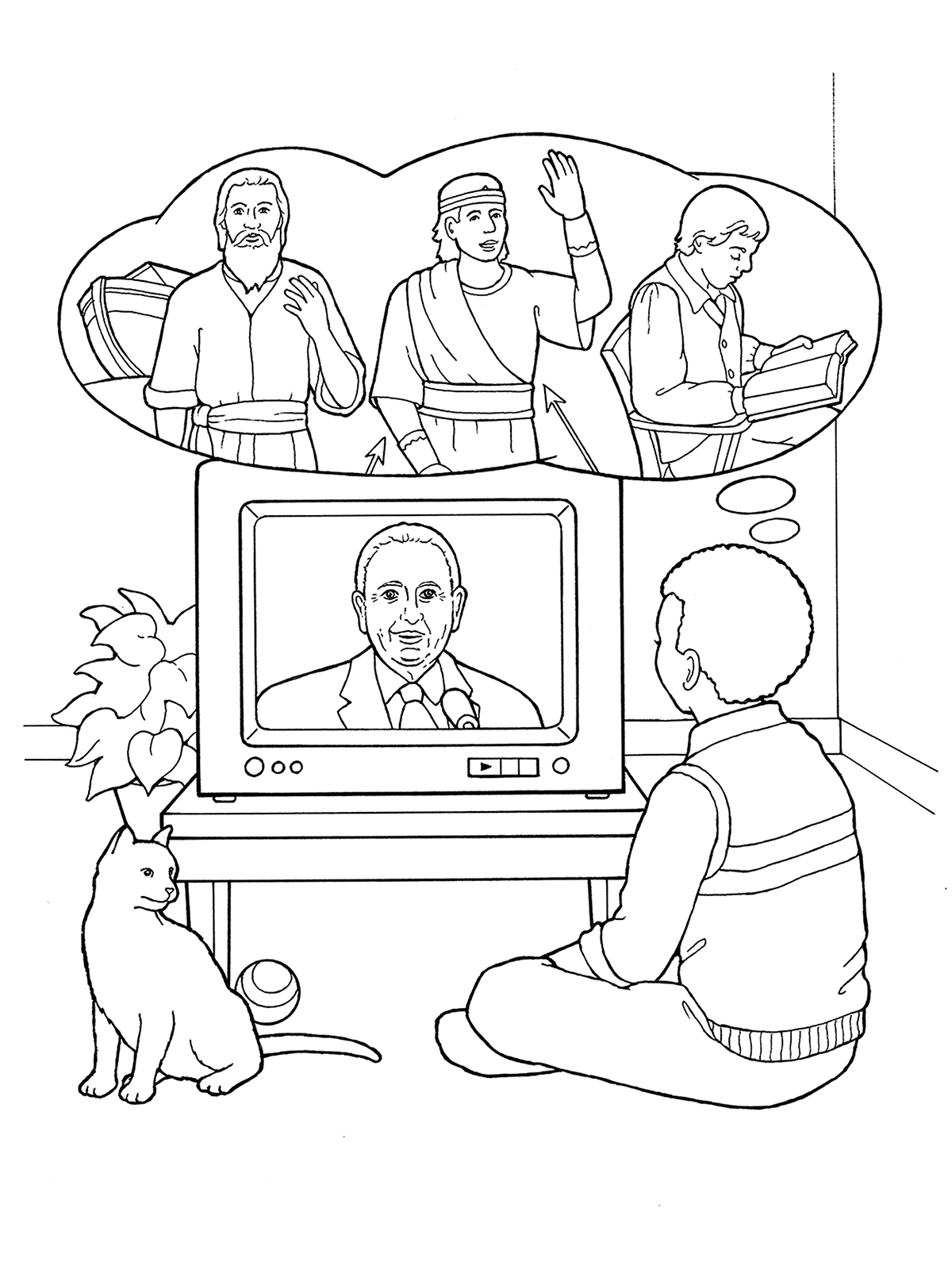 watching tv coloring pages clipart television black and white kid watching tv pages coloring tv watching