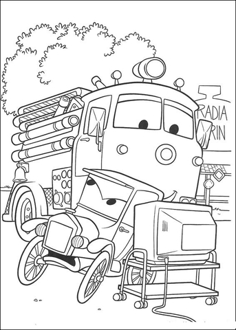 watching tv coloring pages father is watching tv coloring page free chicken little pages coloring tv watching