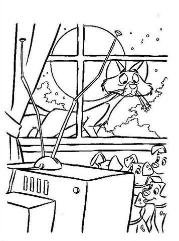watching tv coloring pages vector of a cartoon football fan watching tv in an arm coloring tv watching pages