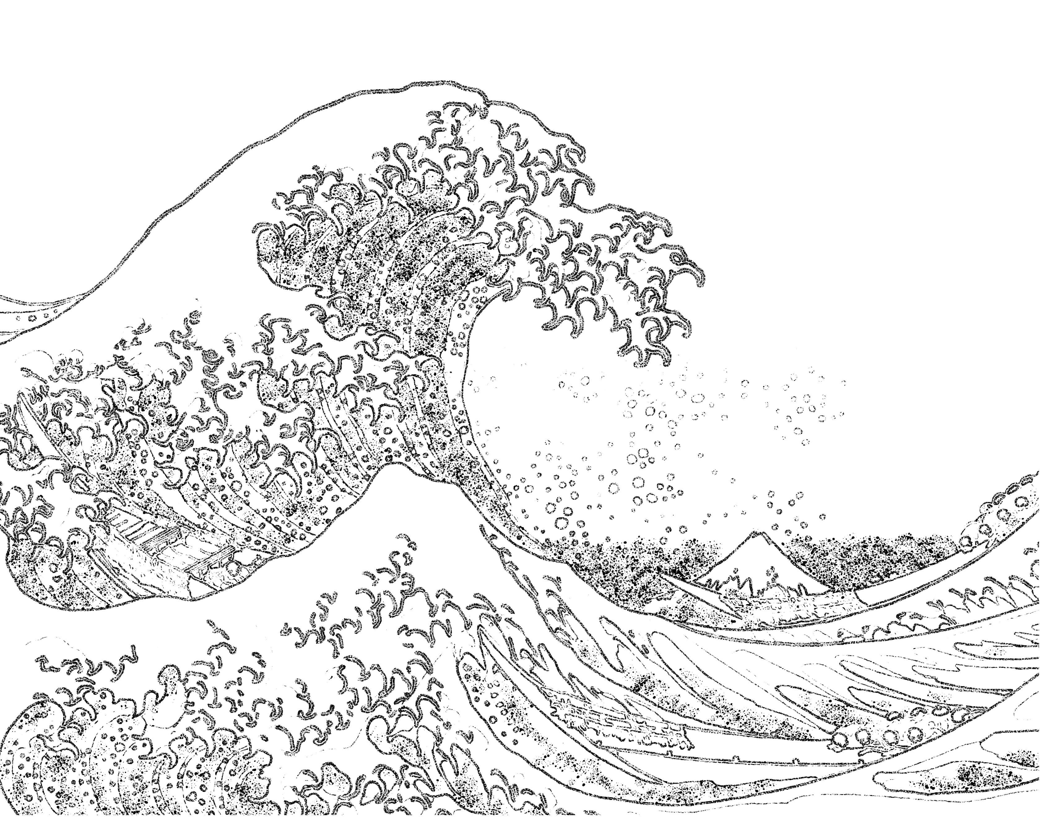 water coloring images ocean waves coloring pages at getcoloringscom free coloring water images