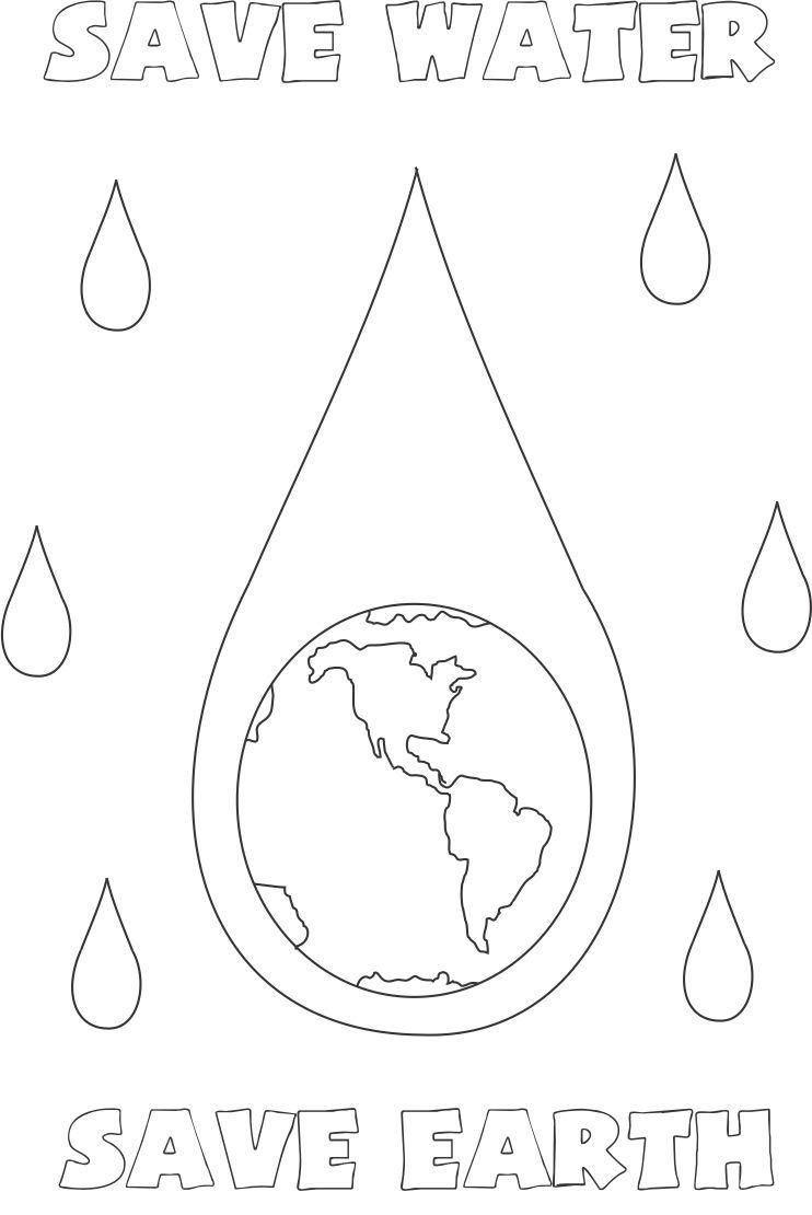 water coloring images world water day 22 march coloring page water drop water images coloring