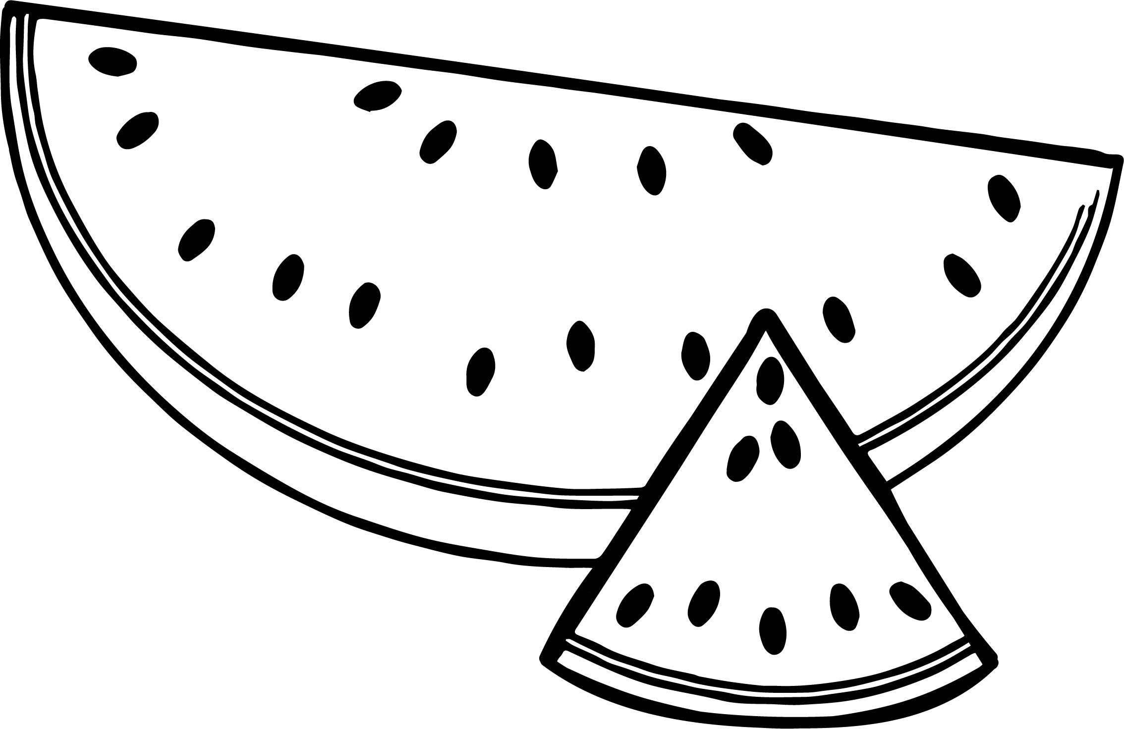 watermelon coloring pages cute watermelon drawing at getdrawings free download coloring pages watermelon