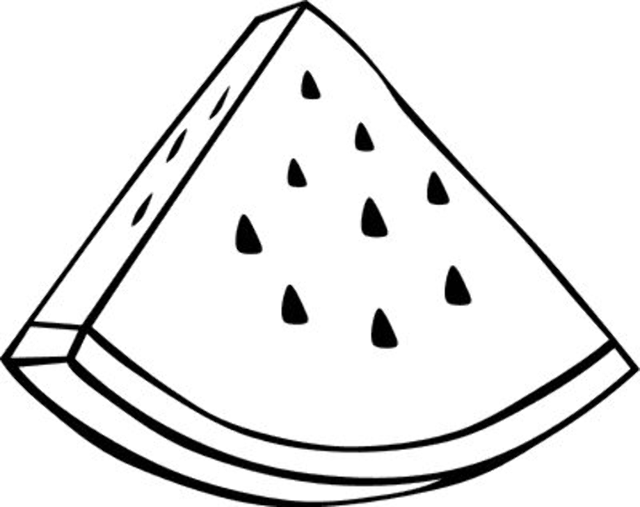 watermelon for coloring download high quality watermelon clipart coloring watermelon for coloring