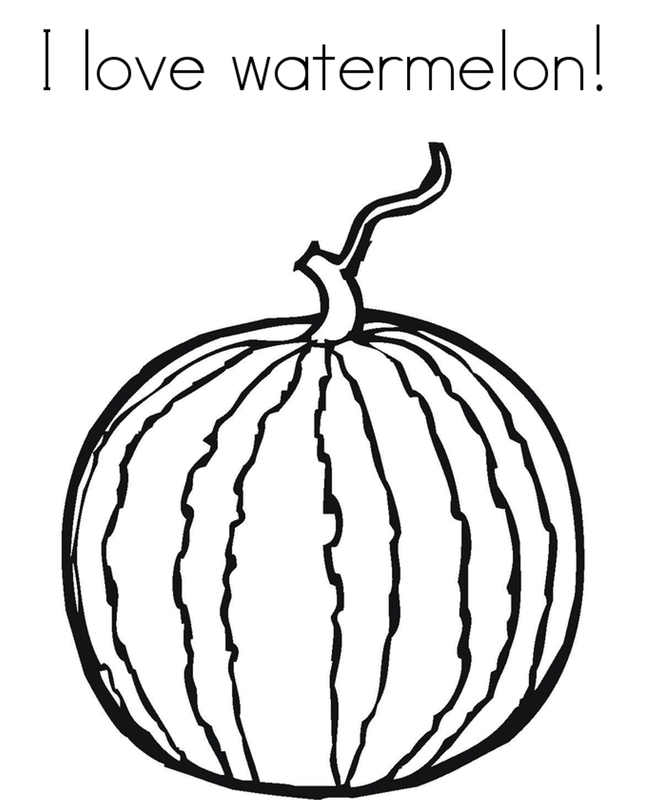 watermelon for coloring water melon drawing at getdrawings free download watermelon for coloring