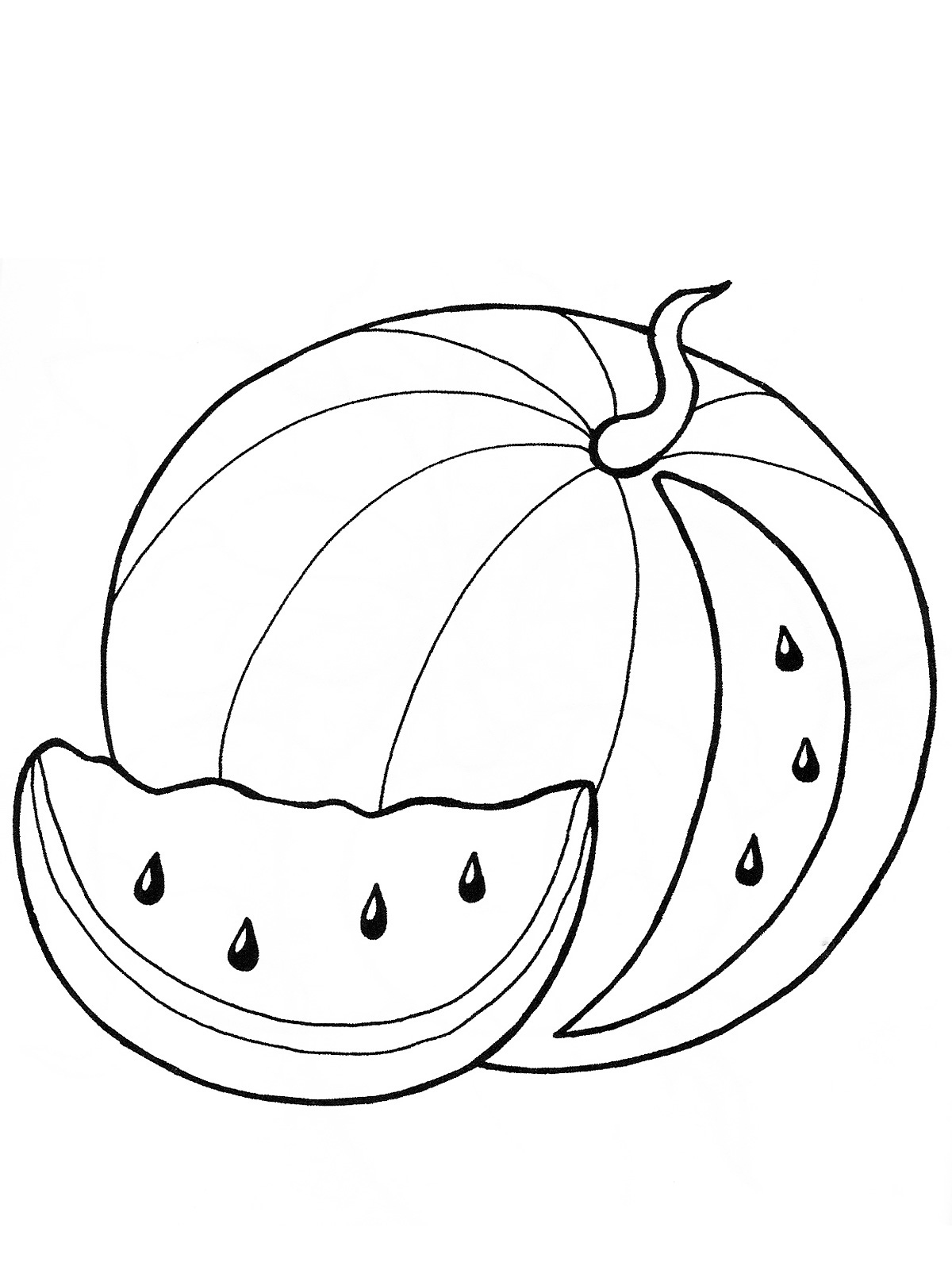 watermelon for coloring watermelon coloring pages to download and print for free coloring for watermelon