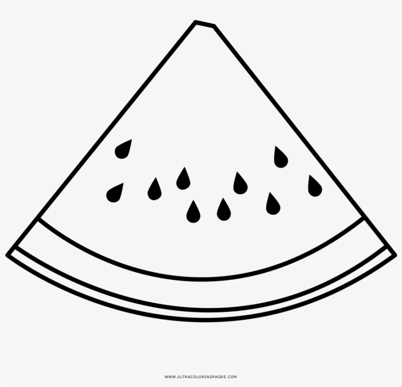 watermelon for coloring watermelon slice coloring page drawing transparent png for coloring watermelon