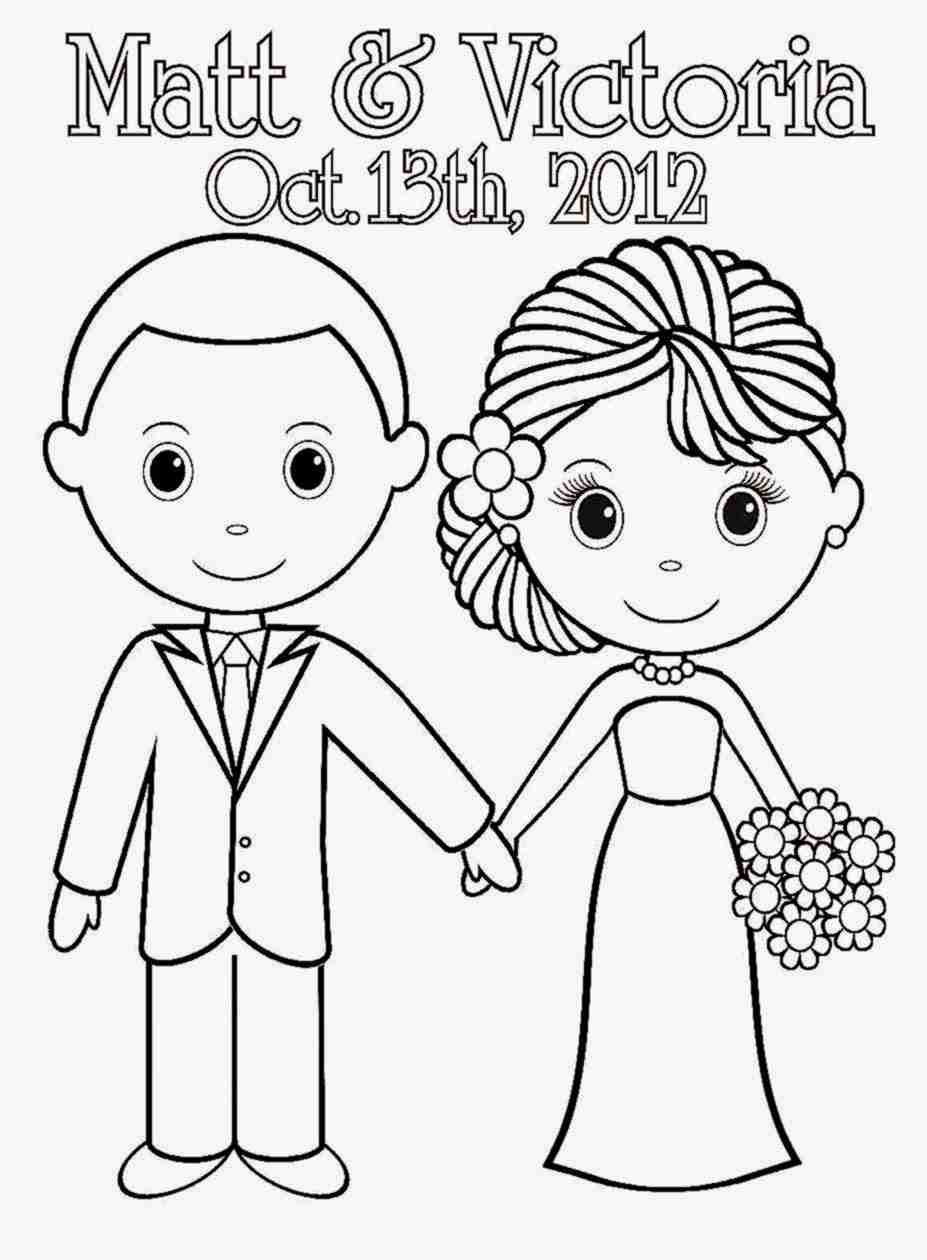 wedding coloring pages free printable wedding coloring pages at getcoloringscom coloring wedding pages