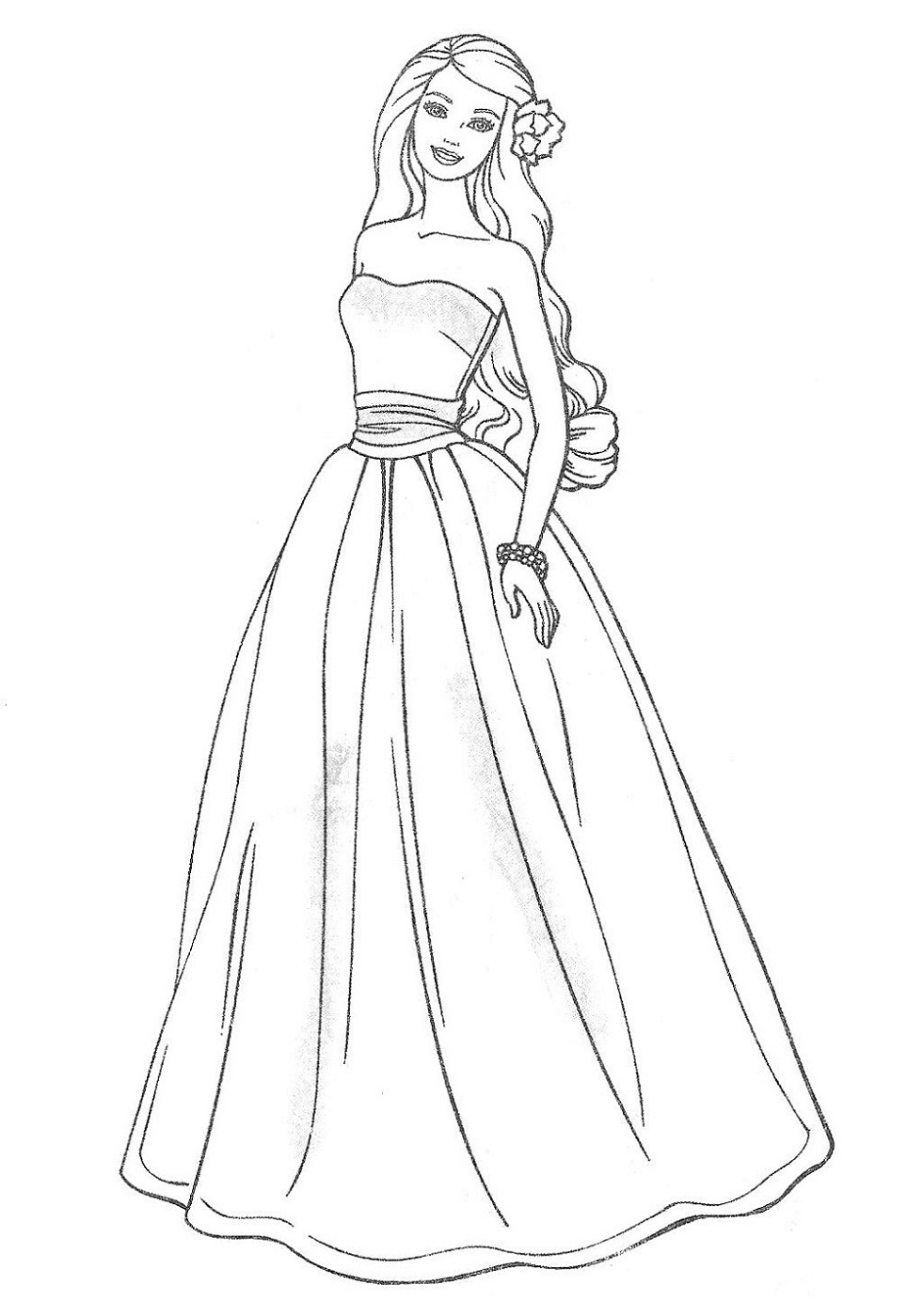 wedding dresses coloring pages dress coloring pages getcoloringpagescom pages wedding coloring dresses