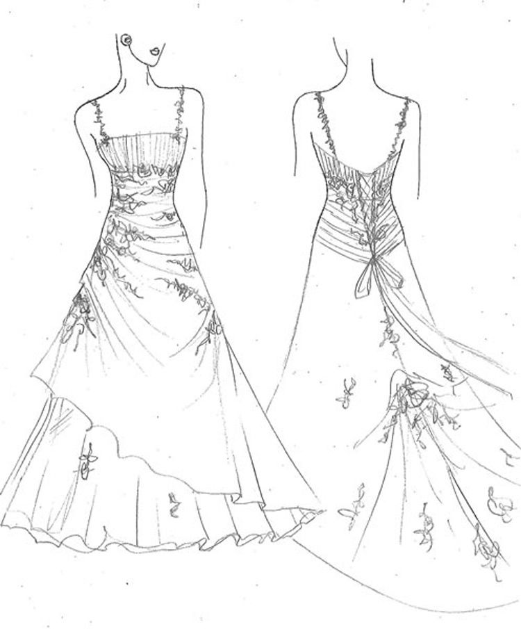 wedding dresses coloring pages free printable coloring pages for girls art hearty pages dresses wedding coloring