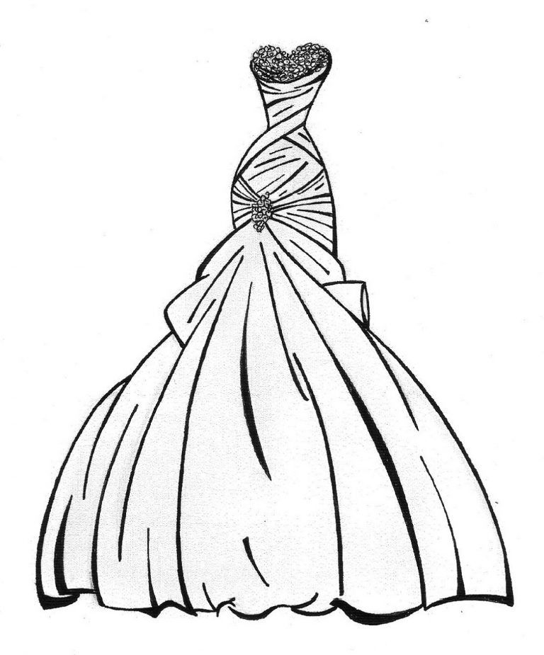 wedding dresses coloring pages the wedding dresses princess coloring sheet to print pages coloring wedding dresses