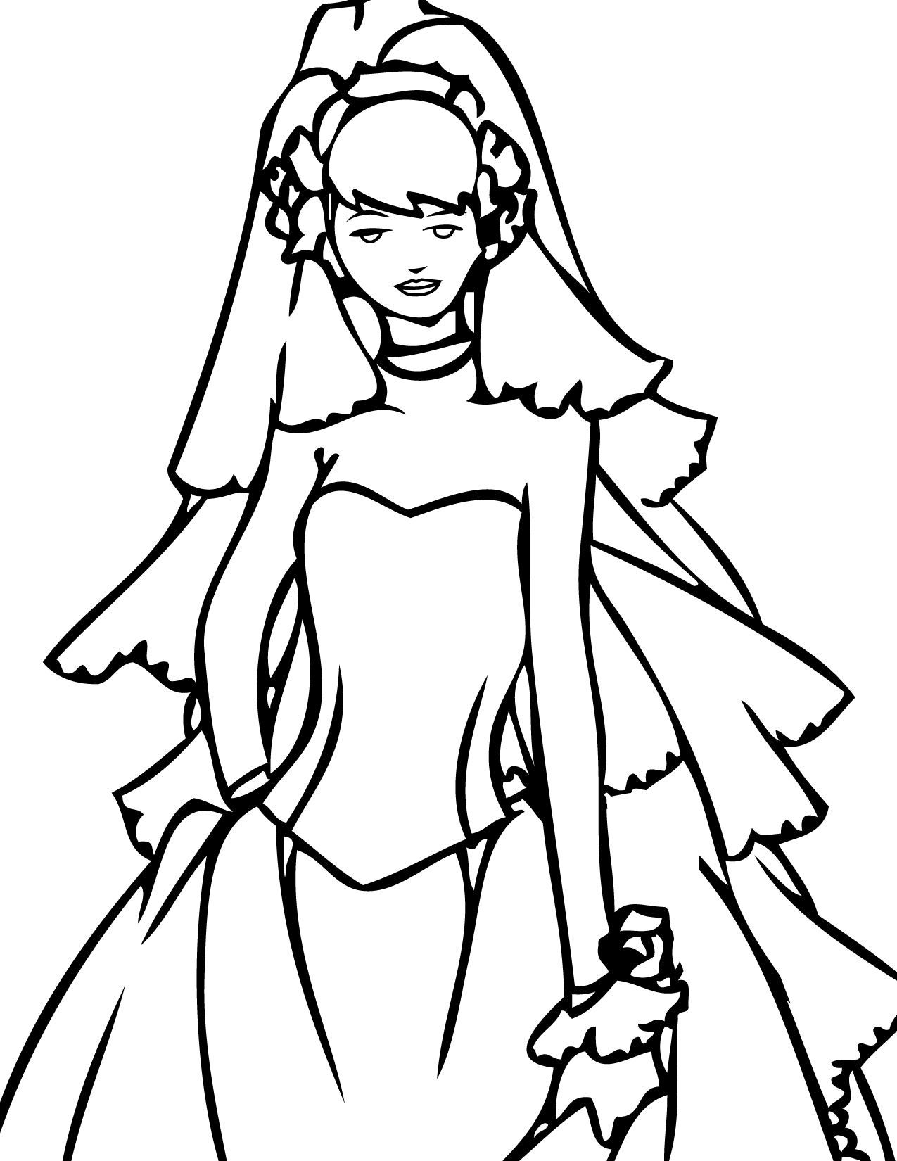 wedding dresses coloring pages wedding coloring pages 12 coloring kids coloring kids dresses pages coloring wedding