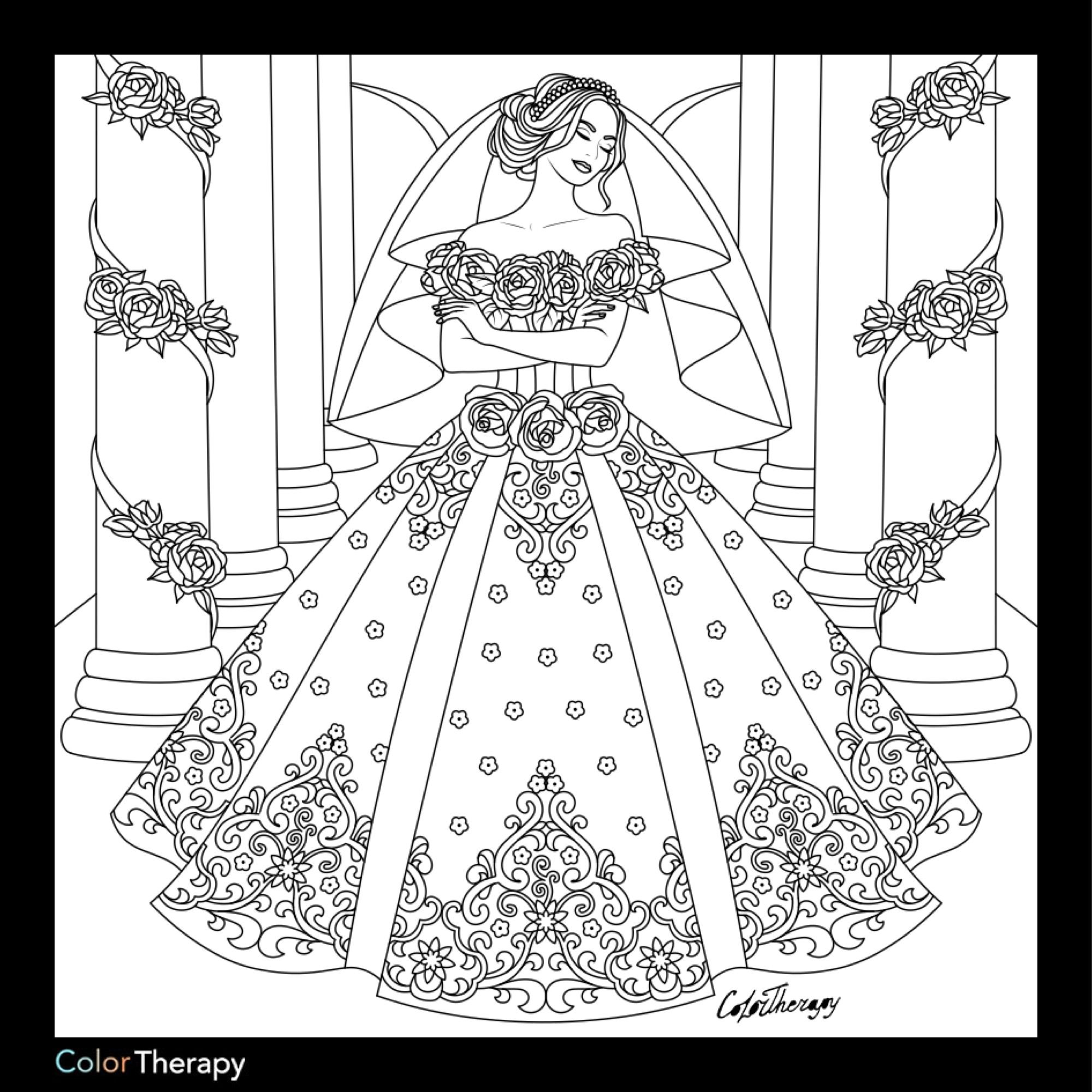 wedding dresses coloring pages wedding coloring pages best coloring pages for kids pages wedding coloring dresses