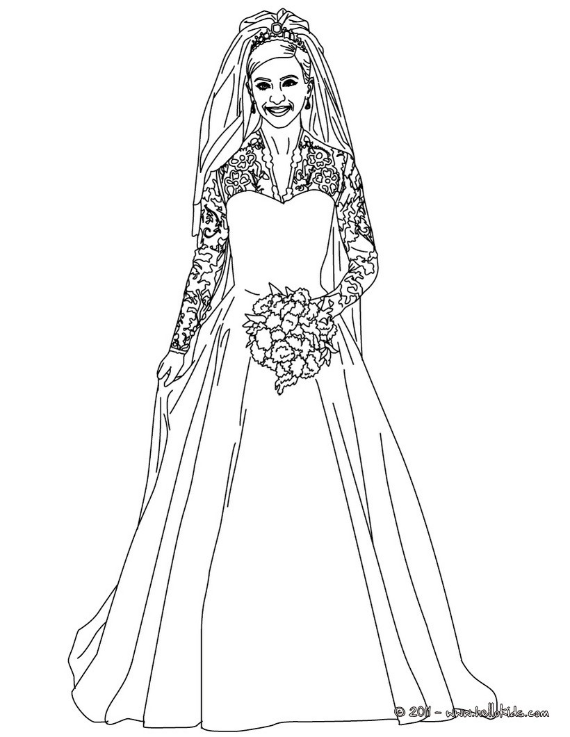 wedding dresses coloring pages wedding dress coloring pages coloring home dresses coloring wedding pages