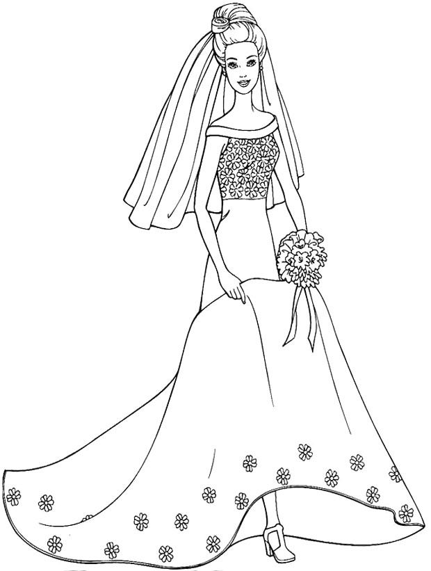 wedding dresses coloring pages wedding dress coloring pages coloring home pages wedding dresses coloring